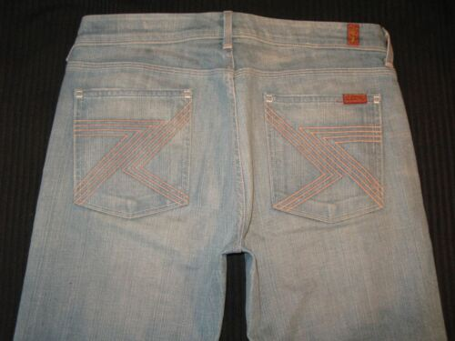 Stretch Jeans W Taglie Mankind Flynt All 31 Svasati Donna 7 For Sdrucito 4wqfBWAUA