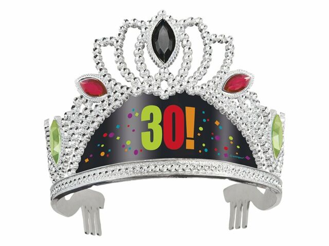 30th Birthday Cheer Tiara Party Hat