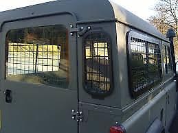 2002 onwards External Window Guard Set Defender 110 5 guards