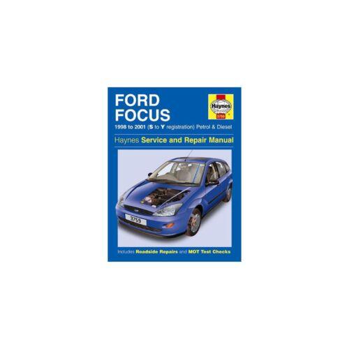 S to Y Registrations 98-01 Genuine Haynes Manual Ford Focus Petrol /& Diesel