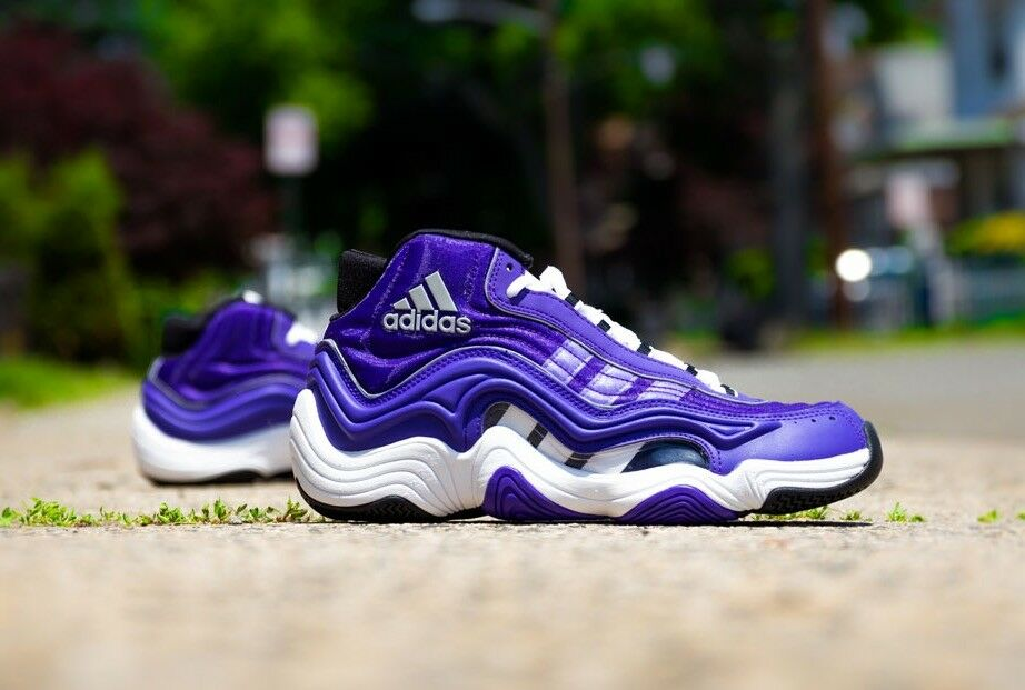 Adidas pazzo 2 kb8 bryant ii sz 8,5 kobe bryant kb8 lakers potere viola scarpe da basket 43ee16