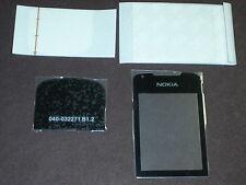nokia 8800 arte black front screen glass+bottom cover top glass