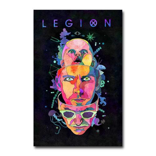 Legion Noah Hawley Season 3 TV Series Art Silk Canvas Print 13x20 inch