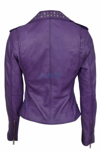 pelle Rock Keira Purple Womens Star Ladies borchie Cheryl in vera Knightley con OPnTUptwt