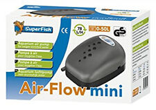 Superfish Air Flow Mini Budget Air Pump Aquarium Fish Tank Airpump 78L/H