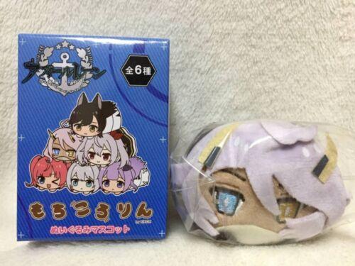 Azur Lane Mochikororin Plush Doll Mascot Indianapolis with Ball Chain JP NEW F//S
