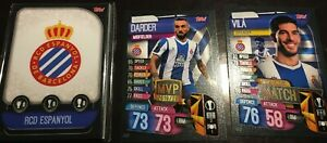 Match Attax 2020 GETAFE complete 12 cards Molina Mata