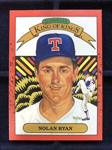 NM-MT! 1990 Donruss Nolan Ryan King of Kings #665 ERROR With Wrong Back #659