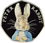 2016-Fifty-Pence-Colour-PETER-RABBIT-BEATRIX-POTTER-50p-COIN-Easter-Bunny-Hunt thumbnail 1