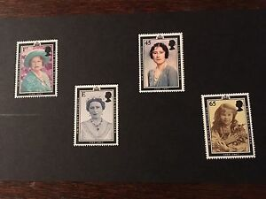 GB 2002 Queen Mother Set Of 4 MNH Stamps