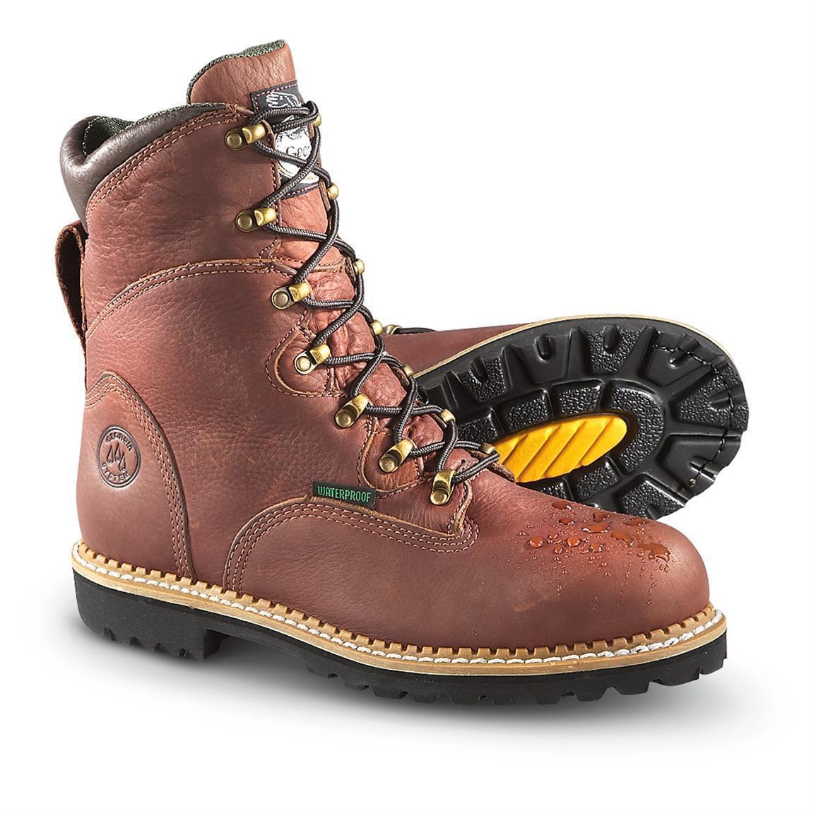 Georgia Boot Men's Steel Toe Waterproof Hammer Work Boots Size UK12 - EU 47
