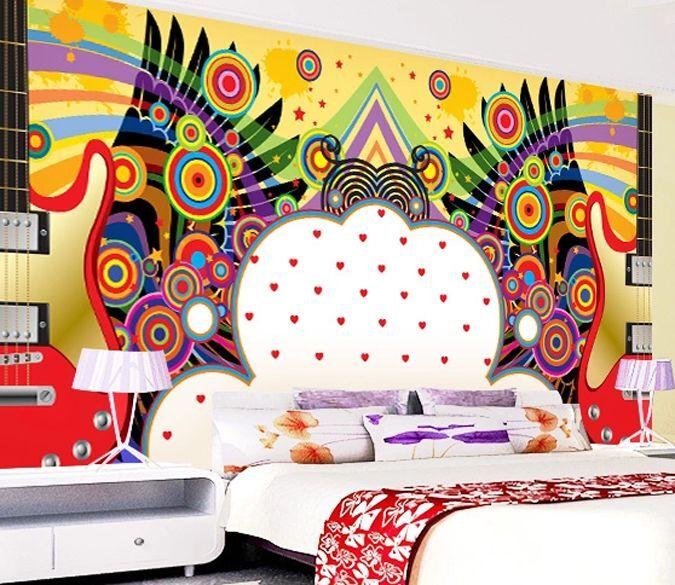 3D Modern graffiti art 0161 Wall Paper Wall Print Decal Wall Deco AJ WALLPAPER