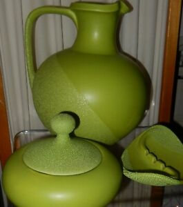 Quatre (4) PIECE Retro Green pitcher- Candy Dish- cendrier- Royal Haeger-afficher le titre d`origine wtlzqBEW-09162625-575528186