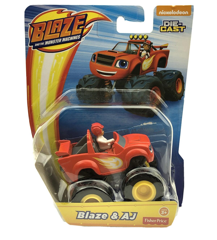 Nickelodeon Blaze The Monster Machines Blaze Aj Die Cast Toy Vehicle Truck For Sale Online