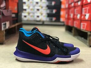 d226f39f1cb Nike Kyrie 3 Kyrache Light Kyrie Irving Black Blue Purple 852395 007 ...