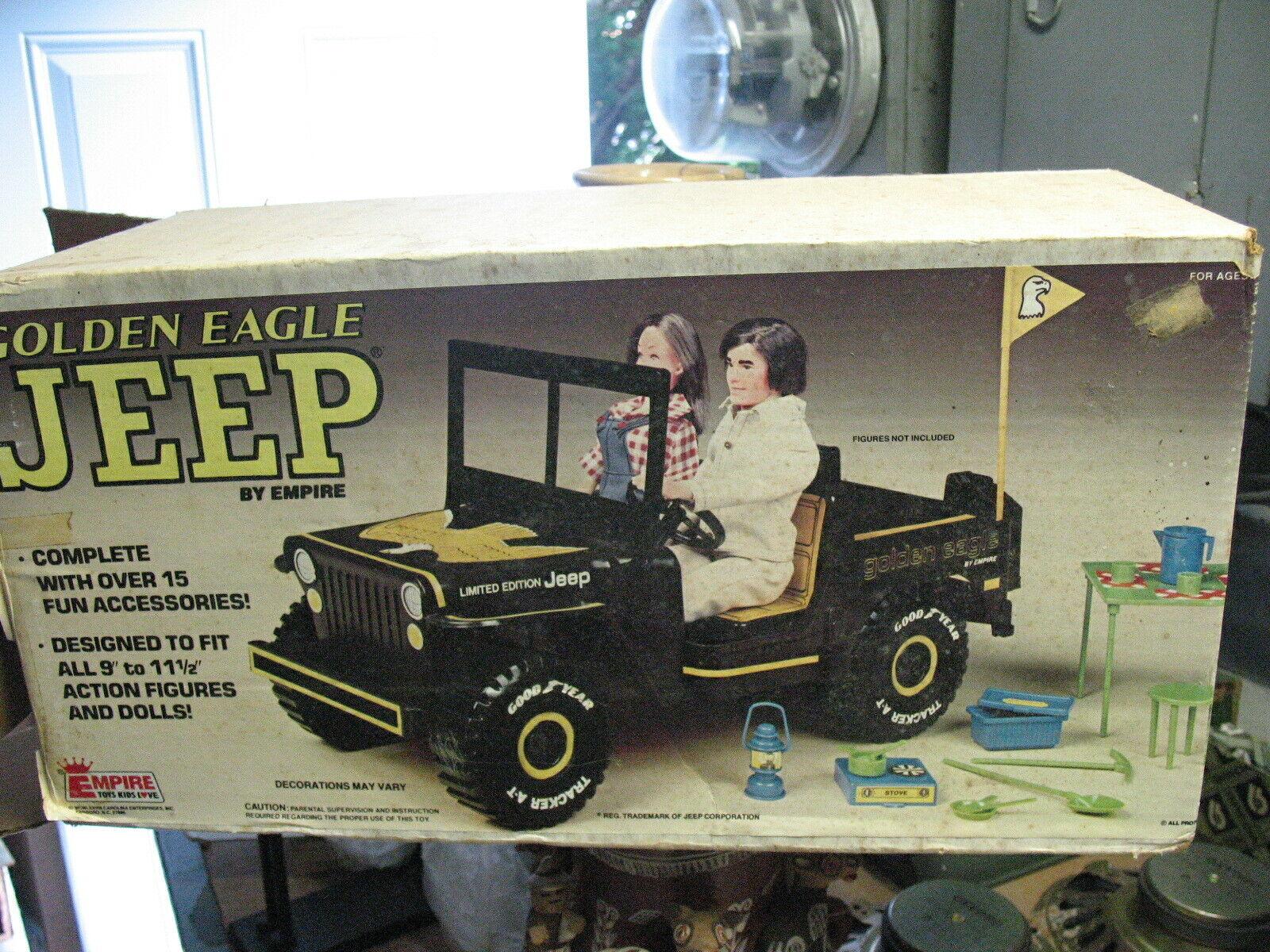 oroen Eagle Jeep Imperio Juguetes encaja todo 9  a 11.5  acciones figuras Vint. USA