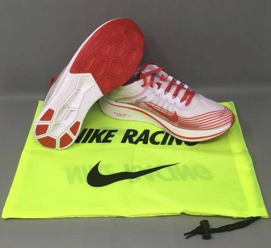 Nike Zoom Fly SP Running shoes Tokyo White Red Mens Size 11.5 AJ9282-100 New