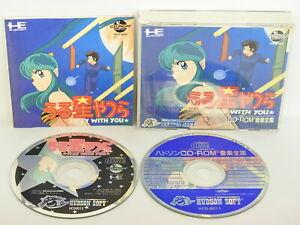 URUSEI-YATSURA-STAY-WITH-YOU-Music-CD-C-PC-Engine-CD-PCE-Grafx-Japan-Game-pe