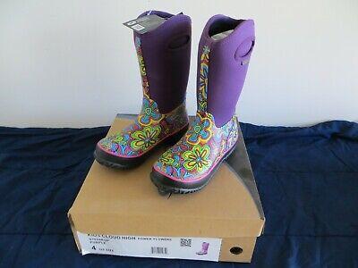 Perfect Storm Kids Neoprene 100/% Waterproof Cloud High Top Non-Slip Snow Boots