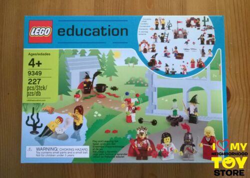 LEGO 9349 EDUCATION FAIRYTALE /& HISTORIC MINIFIGURE SET 2011 - MISB RETIRED