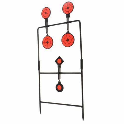 Spinning Auto Reset Target Hunting Gallery Rotating Shooting Hunting Target Set