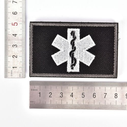 embroidery patch emergency medical technician paramedic military tactical badge/&