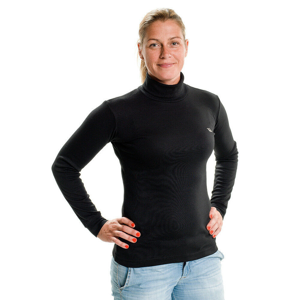 Back on on on Track Rollkragensweatshirt - Damen - schwarz 28cf4a