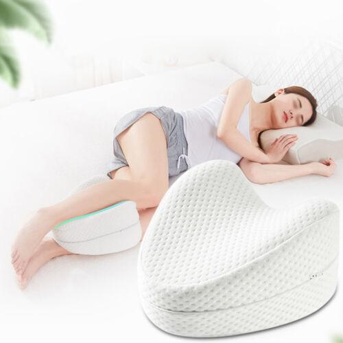 Bedding Knee Pillow Memory Foam Leg Cushion for Side Sleepers Pregnancy New