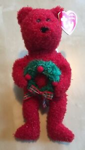 TY-BEANIE-BABY-2006-HOLIDAY-TEDDY-MINT-RETIRED