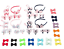 Details about  /50 Pcs of Hair accessories for toddler girls with hair bow kids
