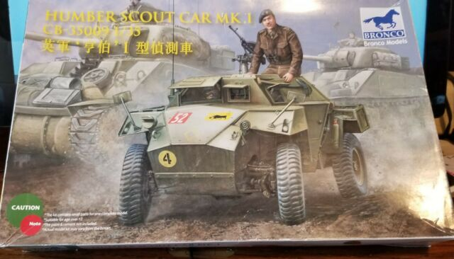 Bronco Models CB35016 Humber Scout Car Mk.I w//twin k-gun in 1:35