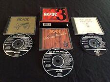 AC/DC 1 2 3 BOX SET 3 X CD 469335 2 BLACK ALBERT PRODUCTIONS  AUSTRALIA