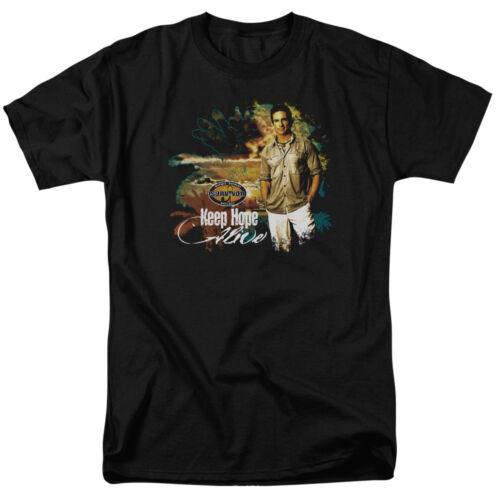 Survivor TV Show KEEP HOPE ALIVE Jeff Probst Licensed T-Shirt All Sizes