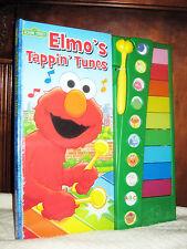 Elmo's Tappin Tunes (2007, Hardcover)