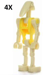 Star-Wars-Battle-Droid-Commander-Robot-guerrier-soldat-custom-LEGO-Minifigure