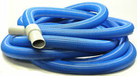 1503wd Generic Blue Carpet Extractor Hose 1 1/2 X 25'