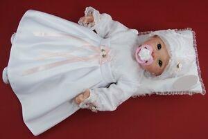 Taufkleid Festkleid Taufgewand Kleid Taufe Hochzeit Babykleid Nr.0ml8
