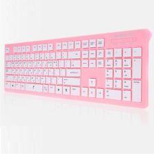 PLEOMAX PKB-550/PINK USB Keyboard Wired Standard Keyboard Skin include PKB550