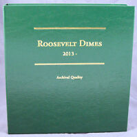 Coin Album By Littleton Roosevelt Dimes 2013 - Date, Lca77