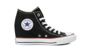 CONVERSE-Chuck-Taylor-All-Star-Mid-LUX-Scarpe-Sneakers-BLACK-547198C