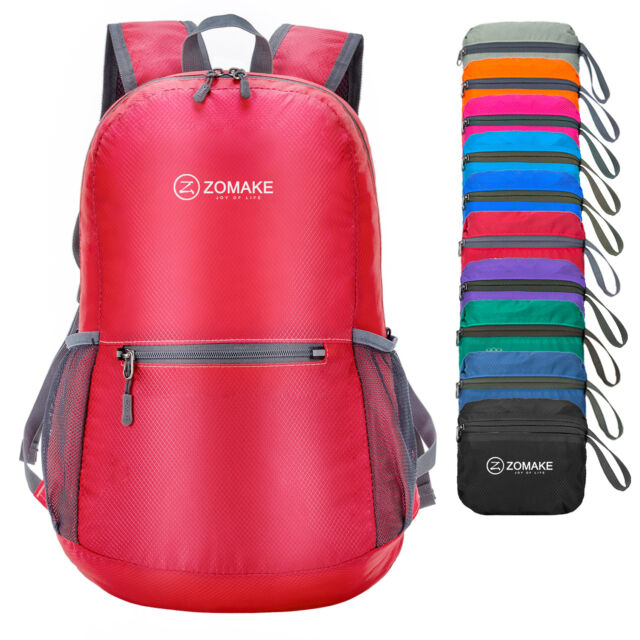 ZOMAKE Ultra Lightweight Packable Backpack Water Resistant Hiking ... 63a841aa84972