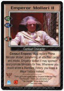 Babylon 5 CCG Deluxe Rare R1 Card Power Posturing Correct M//NM Mint//Near Mint