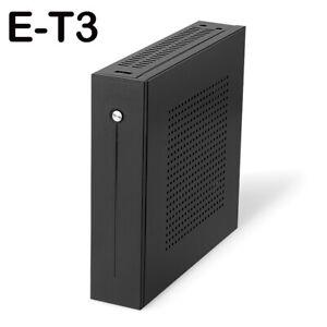 E-T3-Mini-ITX-Case-Ultra-Slim-0-8mm-SECC-PC-Desktop-Computer-Case-PC-Chassis