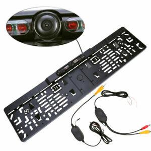 170-IR-LED-Rueckfahrkamera-Nachtsicht-Kennzeichen-Nummernschild-Einparkhilfe-2-4G