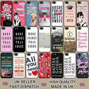 Famous-Quote-amp-Saying-Phone-Case-Cover-for-Samsung-Galaxy-Range-Hard-Phone-Case