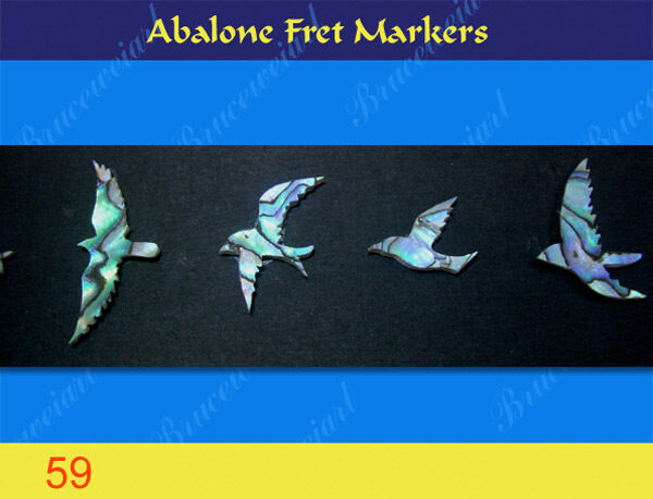 Free Shipping, Inlay Material - DIY Abalone Inlay Markers (59-5)