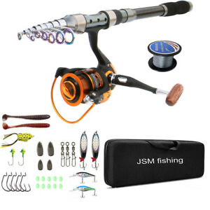 Fishing Rod And Reel Combos Saltwater Fishing Carbon Fiber Spinning
