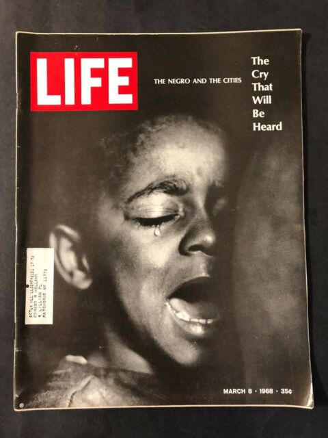 Life Magazine March 8 1968  The Negro and the Cities