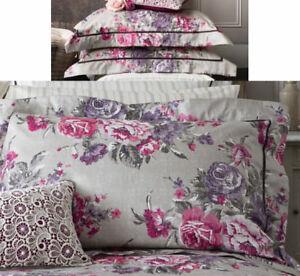 Christy Bedlinen Collection Bloomsbury Plum Floral Standard Pillow