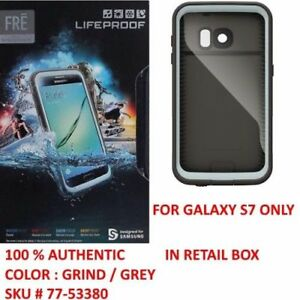 los angeles 2a915 9ec7f Details about Authentic Lifeproof Case WaterProof Cover For Samsung Galaxy  S7 (Gray/Grind)